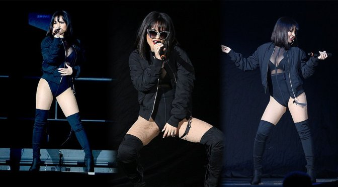 Becky G – Performs Live at American Airlines Arena in Miami