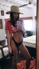 Emily Ratajkowski Selfie