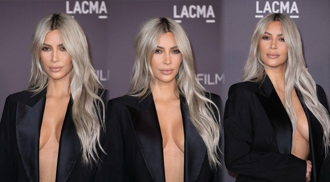 Kim Kardashian – 2017 LACMA Art + Film Gala in Los Angeles