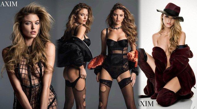 Martha Hunt – Maxim Magazine Photoshoot (December 2017)