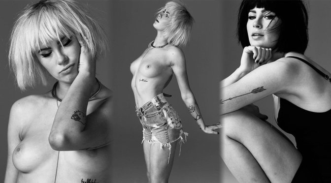 Ireland Baldwin – Topless Photoshoot By Nino Munoz (NSFW)