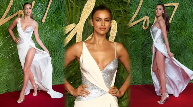 Irina Shayk – Fashion Awards 2017 in London