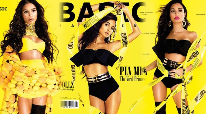 Pia Mia – BASIC Magazine Vibes Issue (November 2017)