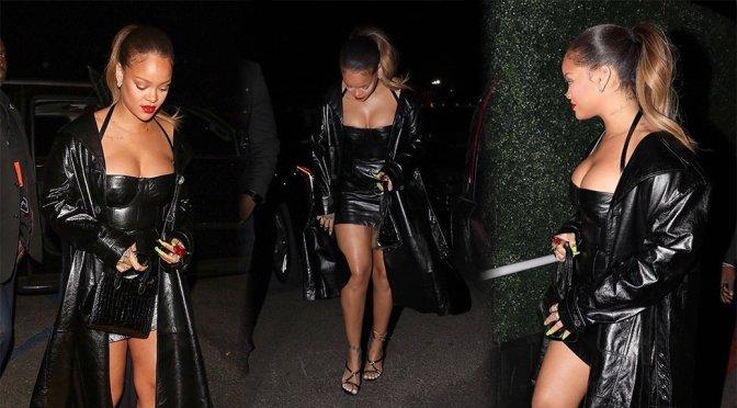 Rihanna – Candids in Inglewood