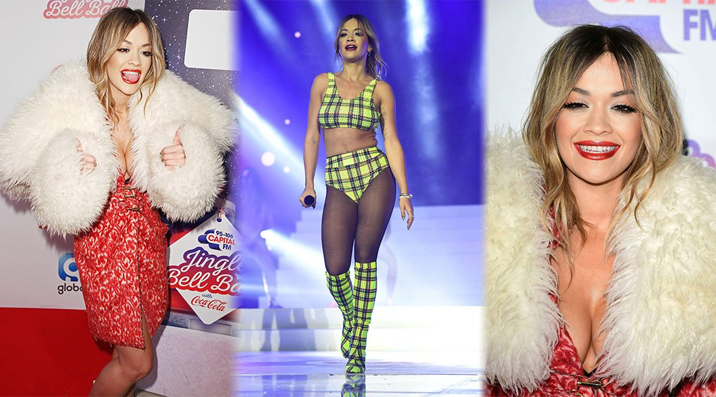 Rita Ora - Capital FM Jingle Bell Ball in London