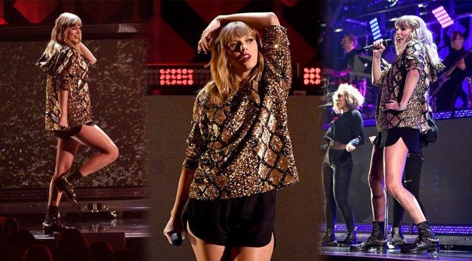 Taylor Swift – 102.7 KIIS FM Jingle Ball in Inglewood