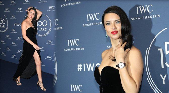 Adriana Lima – IWC Schaffhausen at SIHH Dinner in Geneva