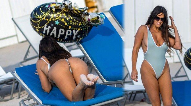Claudia Romani – Swimsuit Photoshoot in Miami