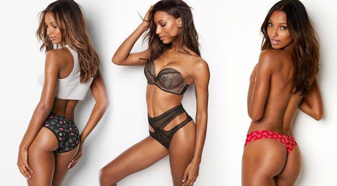 Jasmine Tookes – Victoria's Secret Lingerie Photoshoot