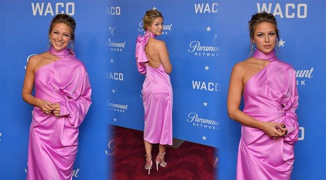 "Melissa Benoist – ""Waco"" Premiere in New York"