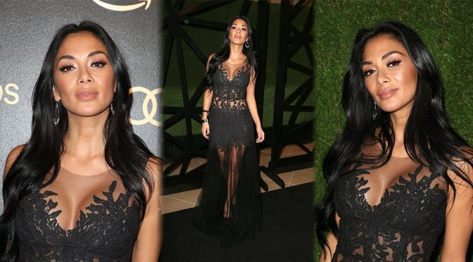 Nicole Scherzinger – Amazon Studios' Golden Globes Celebration