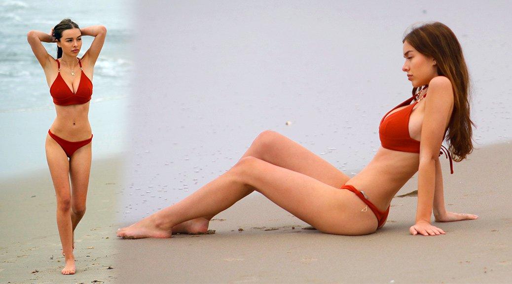 Sophie Mudd - Bikini Ccandids in Malibu