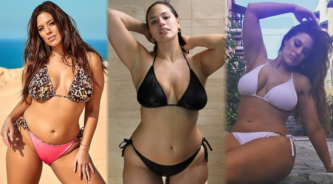 Ashley Graham – Swimsuits for All 2018 Collection