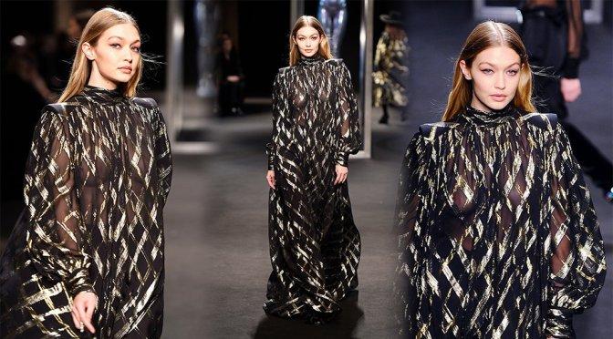 Gigi Hadid – Alberta Ferretti Fashion Show in Milan