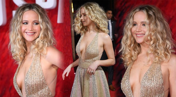 Jennifer Lawrence – Red Sparrow Premiere in London