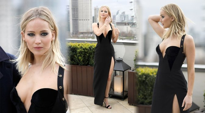 """Jennifer Lawrence – """"Red Sparrow"""" Photocall in London"""