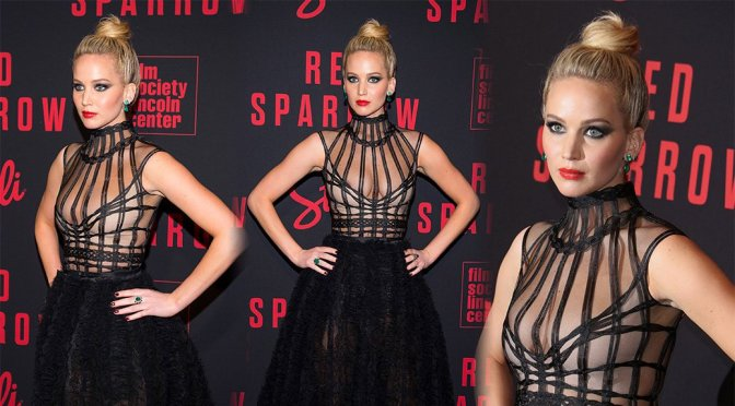 """Jennifer Lawrence – """"Red Sparrow"""" Premiere in New York"""