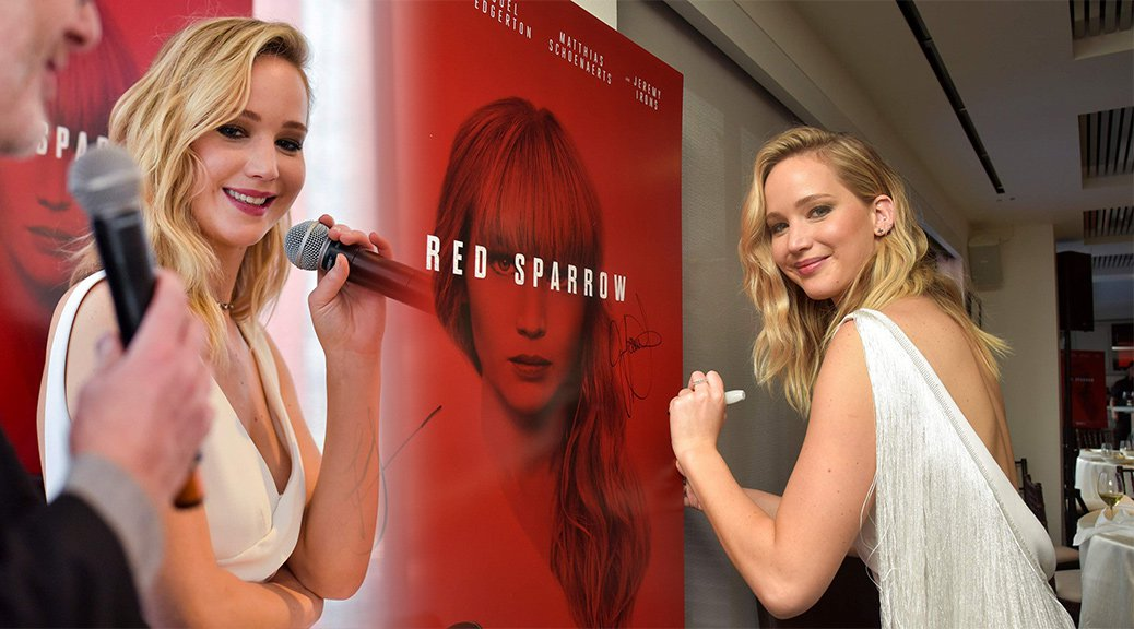 "Jennifer Lawrence - ""Red Sparrow"" Luncheon in Washington"