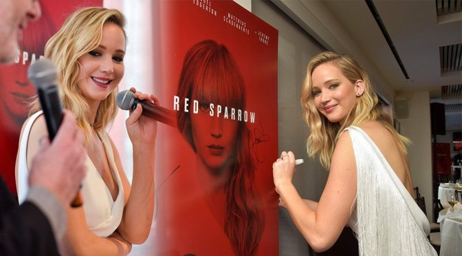 "Jennifer Lawrence – ""Red Sparrow"" Luncheon in Washington"