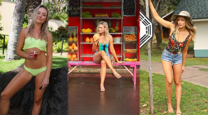 "Katrina Bowden – ""Oahu + Kauai Travel Guide"" Photoshoot"