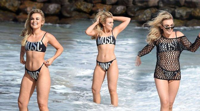 Tallia Storm – Bikini Candids in Cape Verde
