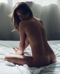 Alyssa Arce Naked On Bed