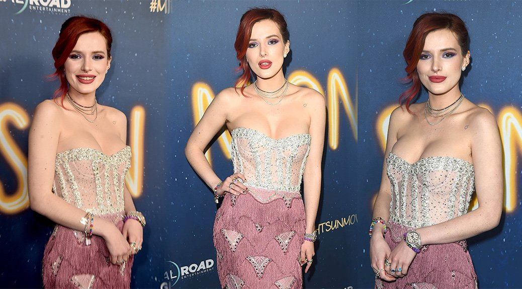 "Bella Thorne - ""Midnight Sun"" Premiere in Hollywood"