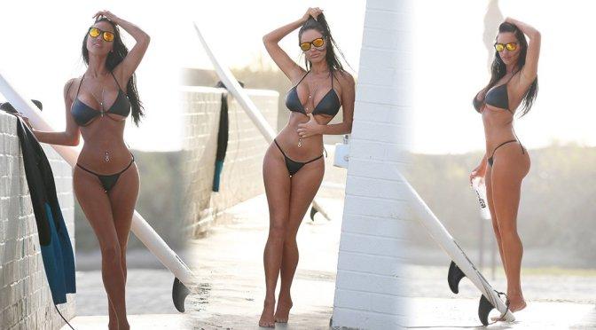 """Charlie Riina – """"138 Water"""" Bikini Photoshoot in Malibu"""