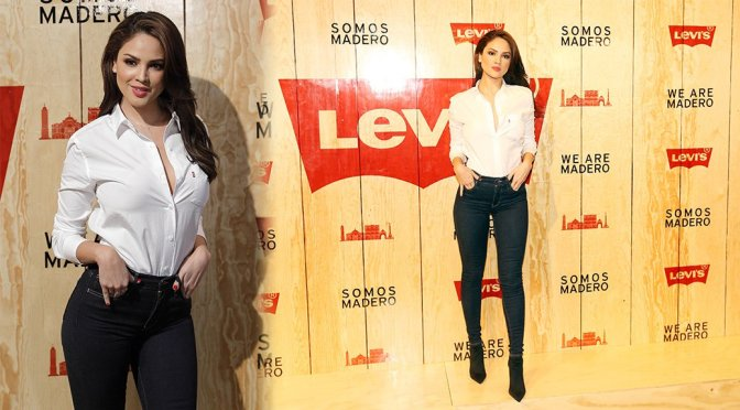 Eiza Gonzalez – Levi's Store Opening in Mexico City