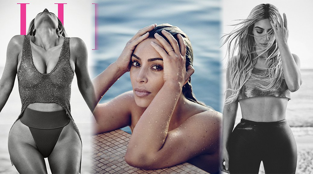 Kim Kardashian - Elle Magazine Photoshoot (April 2018)