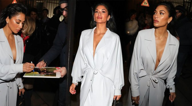 Nicole Scherzinger – Hermes FW 2018 Fashion Show in Paris