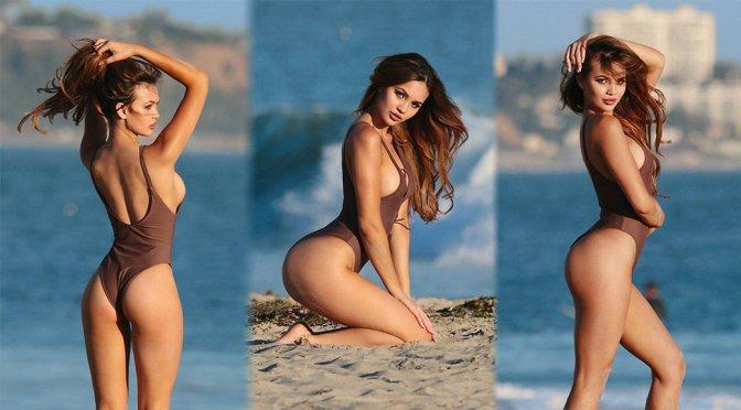 Sammy Mitchell – Swimsuit Photoshoot Candids in Malibu