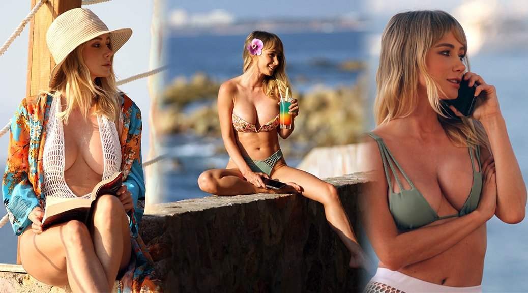 Sara Underwood - Photoshoot Candids in Ohau