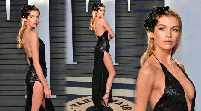 Stella Maxwell – 2018 Vanity Fair Oscar Party