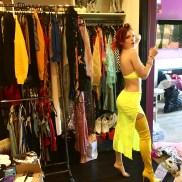 Bella Thorne Yellow Dress