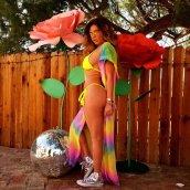 Chanel West Coast Bikini