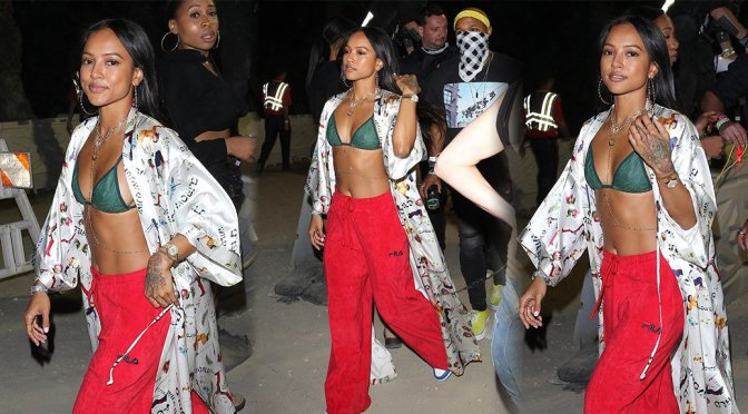 Karrueche Tran – 2018 Coachella Valley Music & Arts Festival