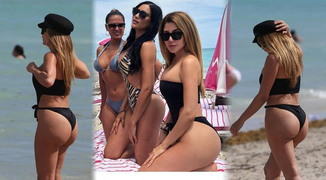 Larsa Pippen – Swimsuit Candids in Miami