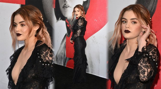 """Lucy Hale – """"Truth or Dare"""" Premiere in Los Angeles"""