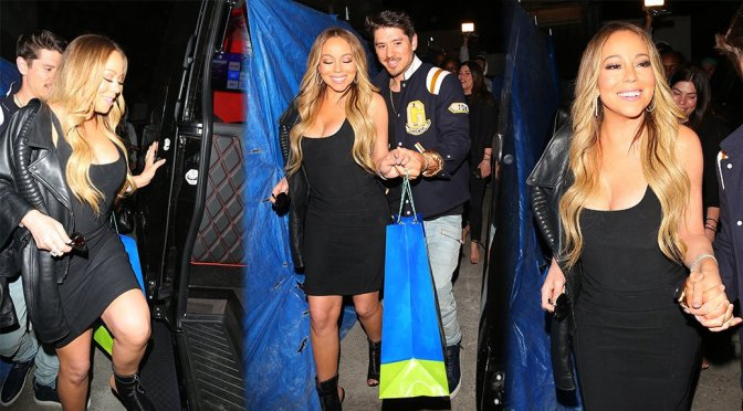 Mariah Carey – Candids in Beverly Hills