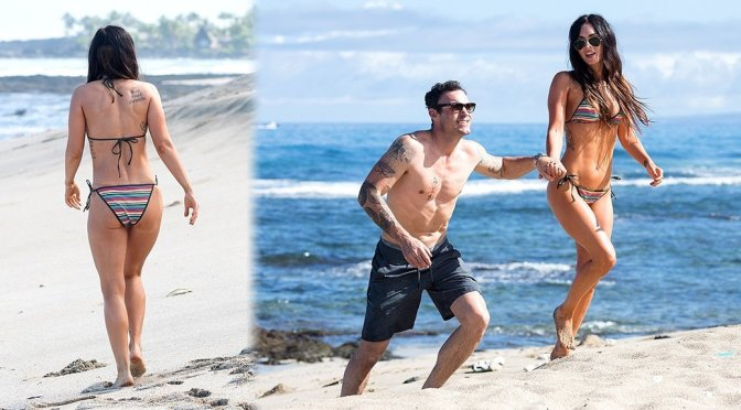 Megan Fox – Bikini Candids in Hawaii