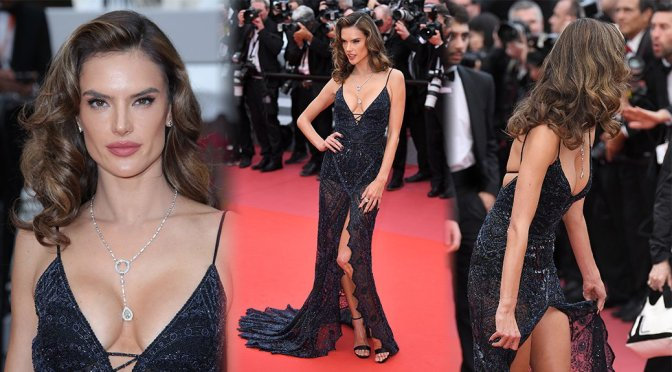 "Alessandra Ambrosio – ""Solo: A Star Wars Story"" Premiere in Cannes"