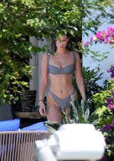Bella Hadid Bikini Thong