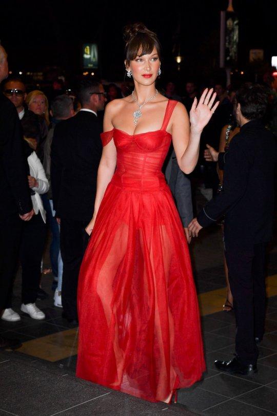 Bella Hadid Red Hot