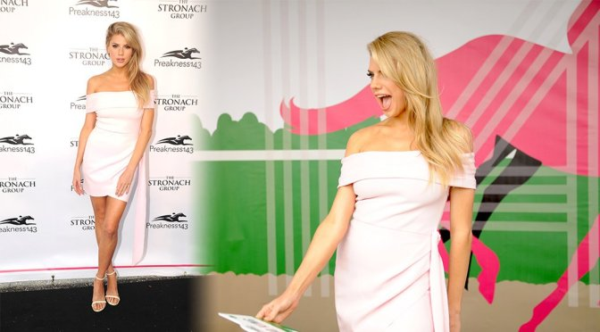 Charlotte McKinney – 143rd Preakness Stakes in Baltimore