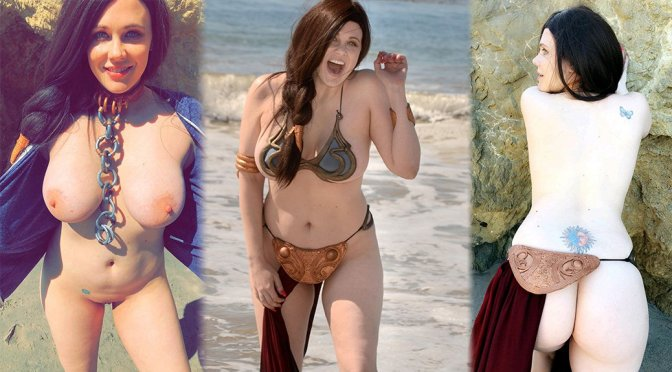 "Maitland Ward – ""May The Fourth"" Naked Photoshoot in Malibu"