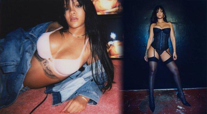 Rihanna – Savage X Fenty Lingerie Photoshoot