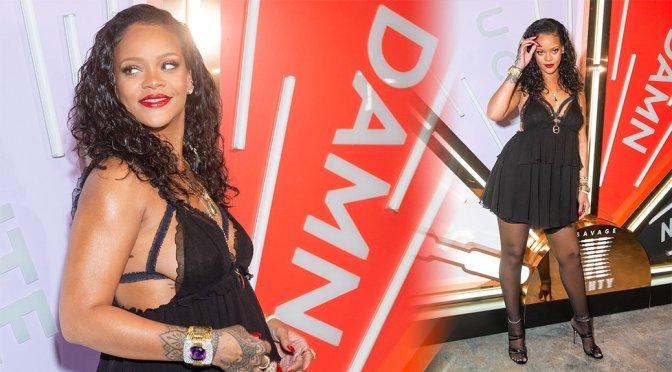 Rihanna Sexy Sideboob