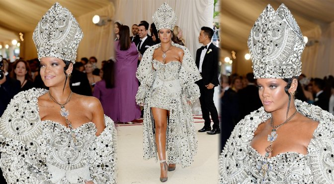 Rihanna – 2018 MET Gala in New York