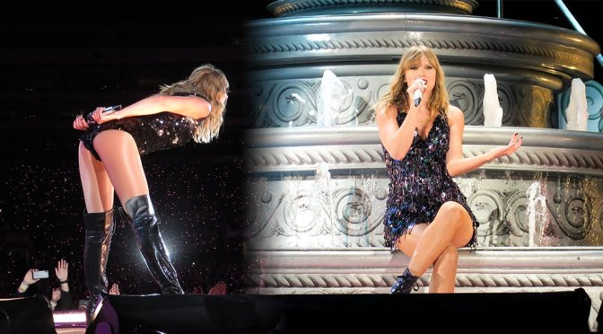 Taylor Swift Performs Live in Pasadena